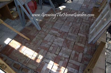 Floor For Garden Shed by A Brick Floor In The Garden Shed From The Garden Shed From