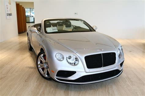 2017 bentley continental gtc v8 s stock 7nc060154 for