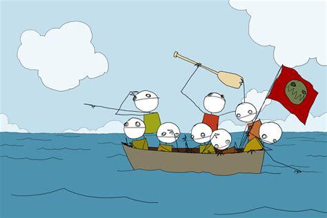 on the same boat in the same boat