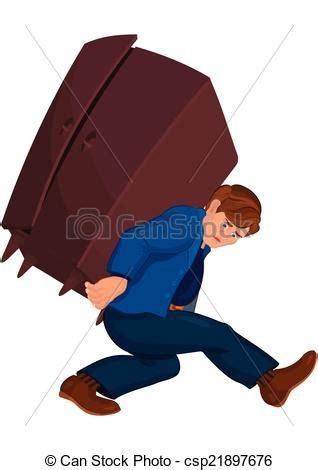 imagenes rockeras pesado pesado hombre caricatura tenencia muebles pesado