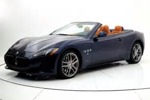 Maserati Granturismo Sport Convertible 2017 Maserati Granturismo Convertible Sport
