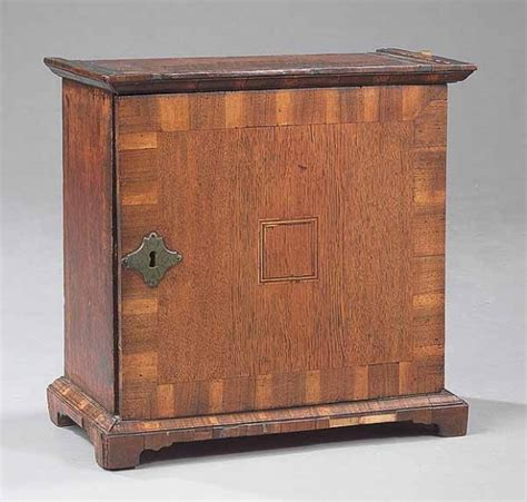 Small Spice Cabinet A Oak Spice Cabinet Late 17th Early 18th C