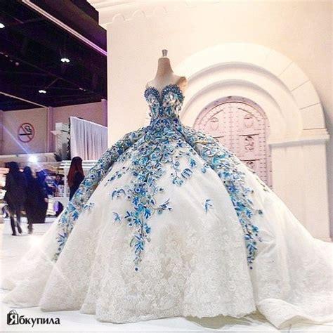 Bjg Blue Dress img809 big gown wedding dress blue