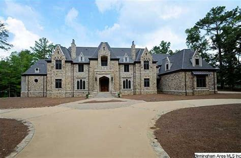 Square Footage Of Apartment 16 000 square foot stone mansion in birmingham al homes