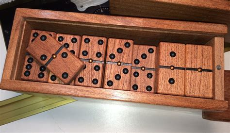 woodworking domino solid mesquite domino sets by staryder lumberjocks
