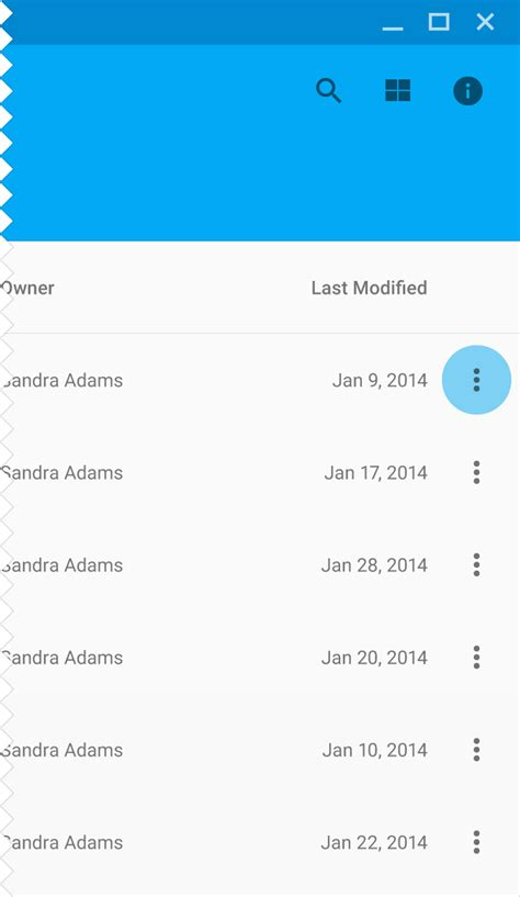 android ui pattern source code android menu exle source code
