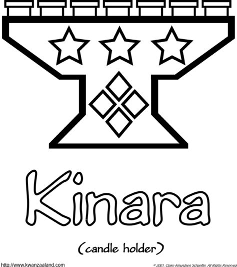 coloring pages for kwanzaa candle holder pin by alicia david on preschool crafts pinterest