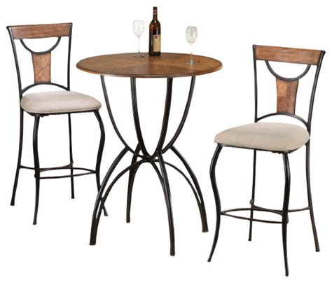 Indoor Bistro Table Set Hillsdale Pacifico 3 Pub Table Set Traditional Indoor Pub And Bistro Sets By Beyond