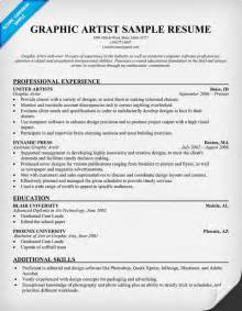 Artist Resume Exles by Graphic Artist Resume Resumecompanion Resume Sles Across All Industries