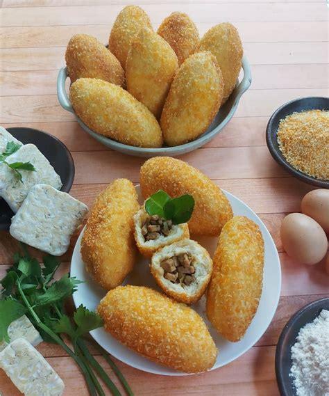 resep roti goreng isi tempe lada hitam variasi seru