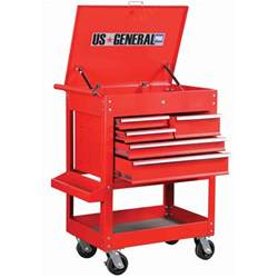 Tool Cabinet Harbor Freight Rolling Tool Cart W 5 Drawers