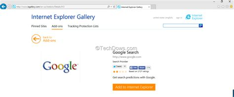 search engine explorer make google as default search engine in internet explorer