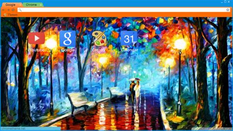 chrome themes rain romantic rain chrome theme themebeta