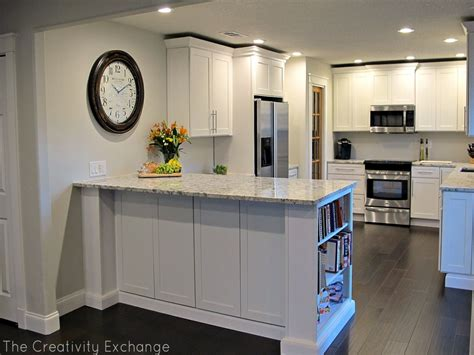 U Shaped Kitchen Remodel Ideas kitchen remodels before and after photos half wall