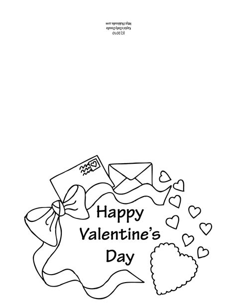 Valentine Card Coloring Pages Coloring Pages Of Cards