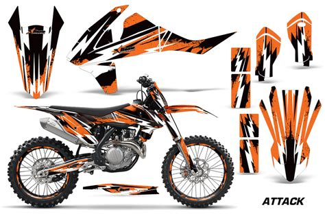 Ktm Decals 2016 Sx F Xc F 250 350 450 Ktm Motocross Graphic Decal