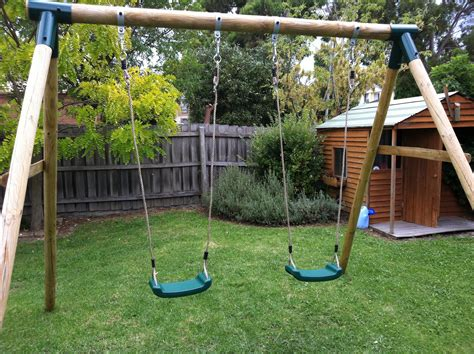 build a frame swing set diy how to build a swing set plans free