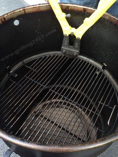 Pit Barrel Cooker Grate Modification Barrel Pit