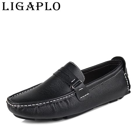 best leather loafers flats new best quality genuine leather casual shoes
