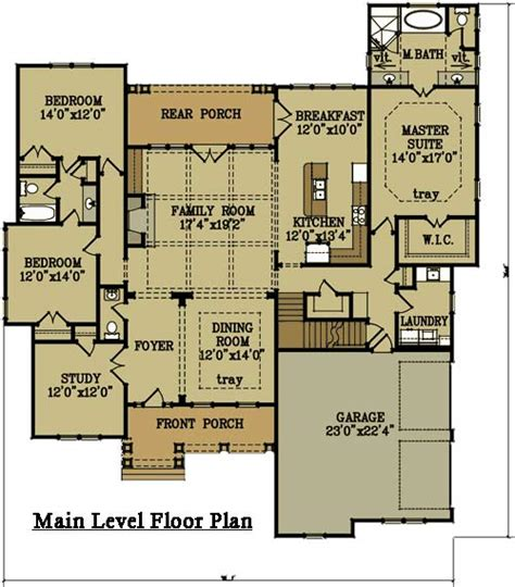 houses and floor plans 2 story 4 bedroom brick house plan by max fulbright designs