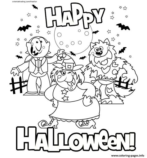 halloween coloring pages vire happy halloween 2017 coloring pages printable