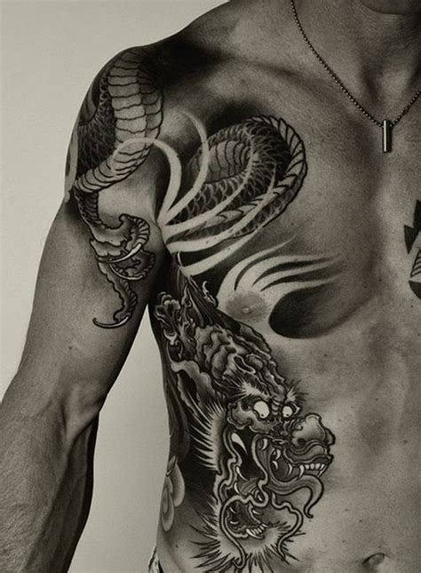 dragon tattoos 101 pictures with 101 cool designs for and