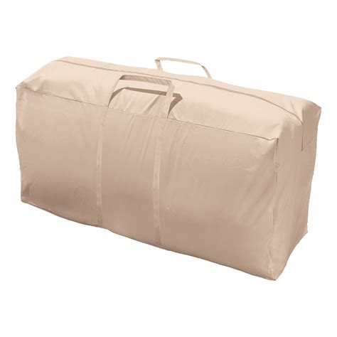 couch covers for storage shop elemental tan polyester cushion cover at lowes com