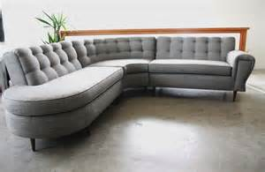mid century modern upholstered sectional fabulous