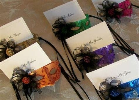 Mardi Gras Table Place Card Free Template by Mardi Gras Wedding Place Card Holders Wedding Wednesday