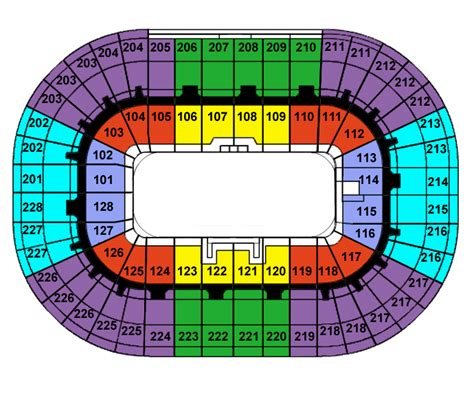 joe louis arena seat map joe louis arena tickets joe louis arena detroit tickets