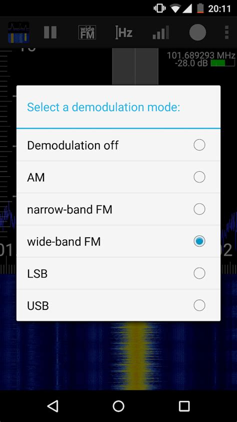 rf apk rf analyzer android apps auf play