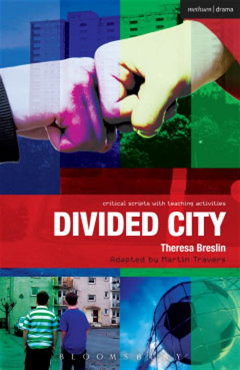 divided city theresa breslin scottish author of teenage and children s fiction
