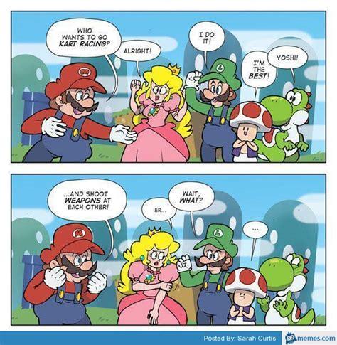 Funny Mario Memes - mario kart funny memes