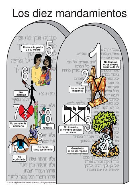 los diez mandamientos para nios los mandamientos dibujos para ninos los diez