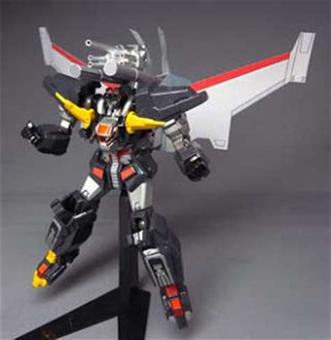 Papercraft Mecha - revorama dancouga papercraft mega booster flight pack
