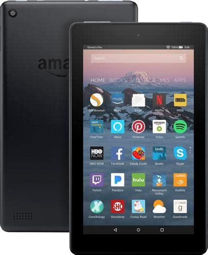 amazon tablet amazon fire 7 quot tablet 8gb 7th generation 2017