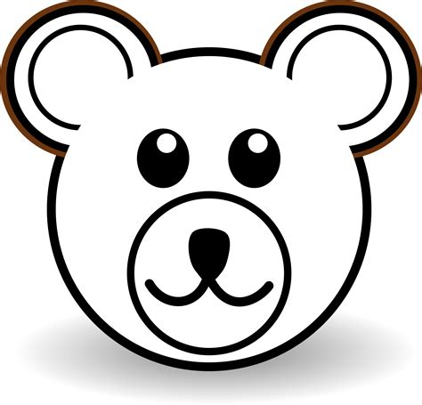 teddy bear outline clipart 505319 lip art clipart coloring