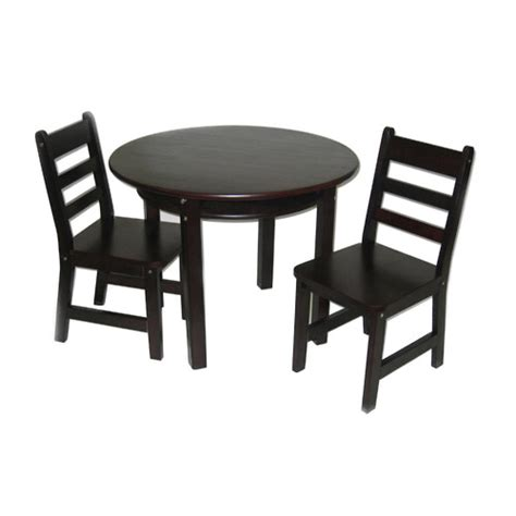 espresso childrens table and chairs childrens table and chairs set espresso in furniture