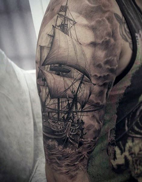 ghost ship tattoo ghost pirate ship pictures to pin on