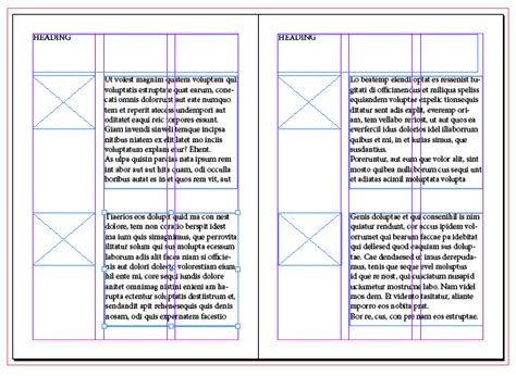 layout grids indesign design practice grid layouts indesign