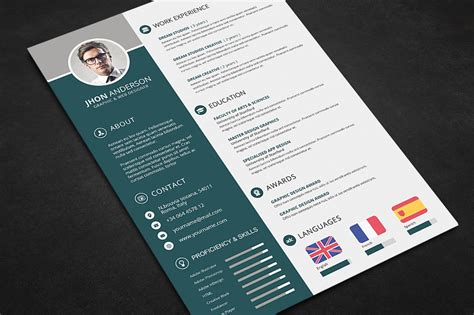 free photoshop templates best curriculum vitae psd files contemporary