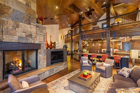 mountain homes interiors ski chic mountain retreats boston design guide