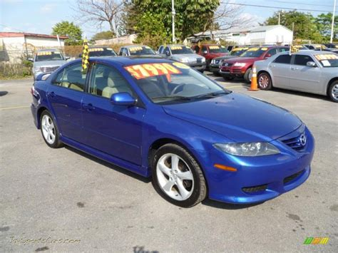 mazda sports cars for sale 2004 mazda mazda6 i sport sedan in lapis blue metallic