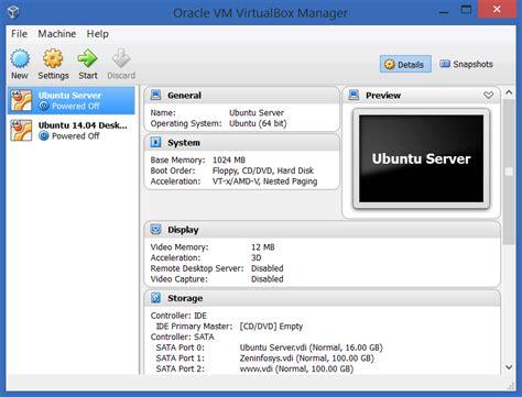setup ubuntu web server virtualbox install ubuntu server 14 04 on virtualbox hussainweb