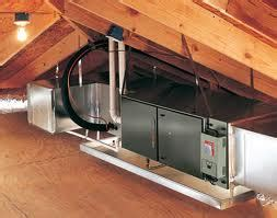 attic mounted air conditioning units attic hvac install isn t that much different