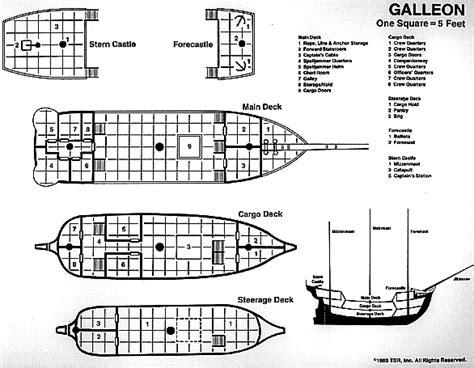 pirate ship floor plan pirate ship deck plans www pixshark com images