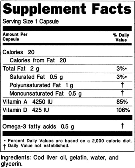 supplement facts template 28 supplement facts template dietary supplement