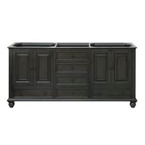 Vanities Only Thompson Charcoal Glaze 72 Inch Vanity Only Avanity