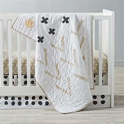 land of nod crib bedding freehand crib bedding the land of nod