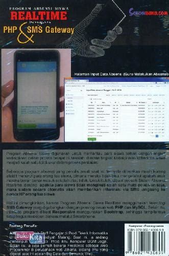 Buku Absensi bukukita program absensi siswa realtime dgn php sms